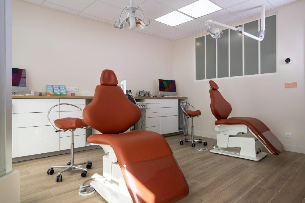 fauteuils cabinet d'orthodontie Le Vésinet Le Pecq